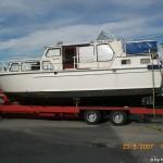 MS Sydney LKW verladen