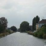 Verengung im Canal Rhône au Rhin