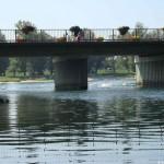 Ausfahrt aus der Möhlin in den Rhein