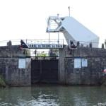Einfahrt Canal Rôhne au Rhin