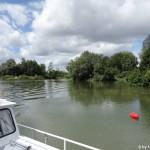 Allan fliesst durch den Kanal