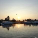 Morgenstimmung Hafen Niffer