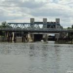 Schleuse im Neckar