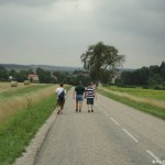 Wanderer in Frankreich