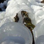 Zufluss im Eistunnel
